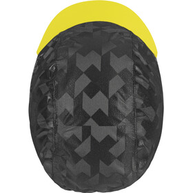 ASSOS Equipe RS Berretto antipioggia, nero/giallo